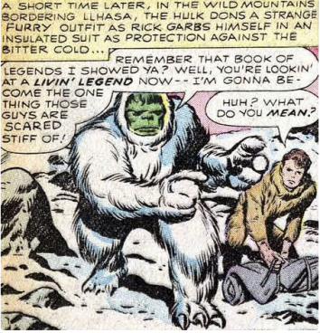 The Incredible Hulk vs. The Hordes of General Fang, Oct 1962.