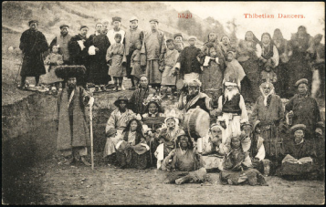 "From ""Tibetan Men in Postcards from 100 years Ago"""